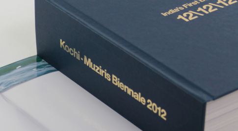 ART BOOK - KOCHI - MUZIRIS BIENNALE