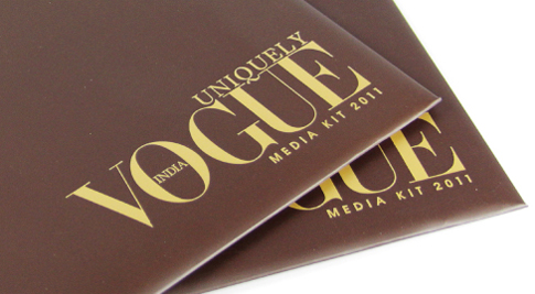 Catalogue Printing - Conde Nast India - Vogue Media Kit
