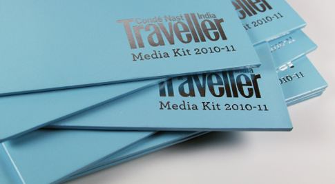 Catalogue Printers in Mumbai - Conde Nast India – Traveller's Media Kit