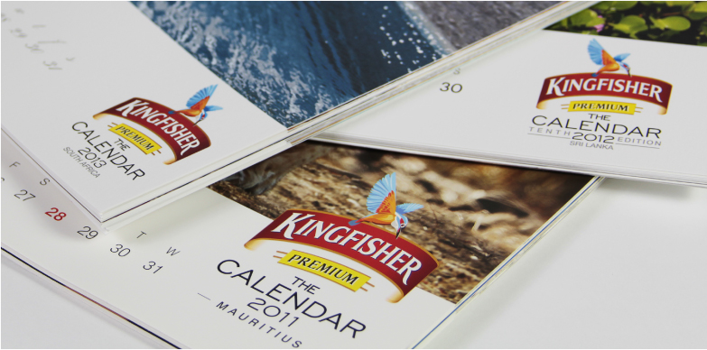 Wall Calendar - Kingfisher Calendar