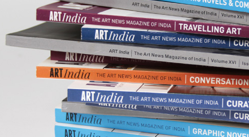 Softcover Book - ART INDIA