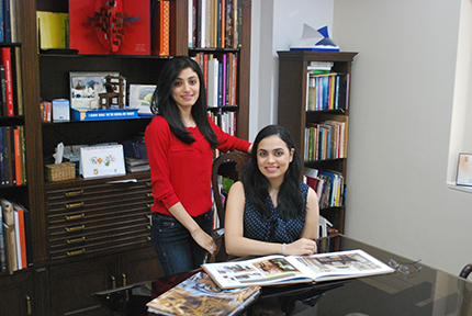 Zeenia (Left) and Parvana (Sitting)